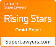 Rated by Superlawyer, Rising Star Badge